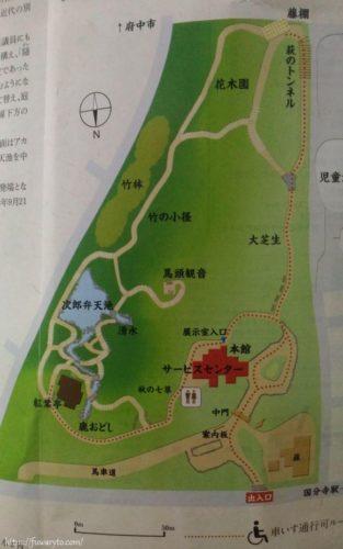 Map:右上「萩のトンネル」